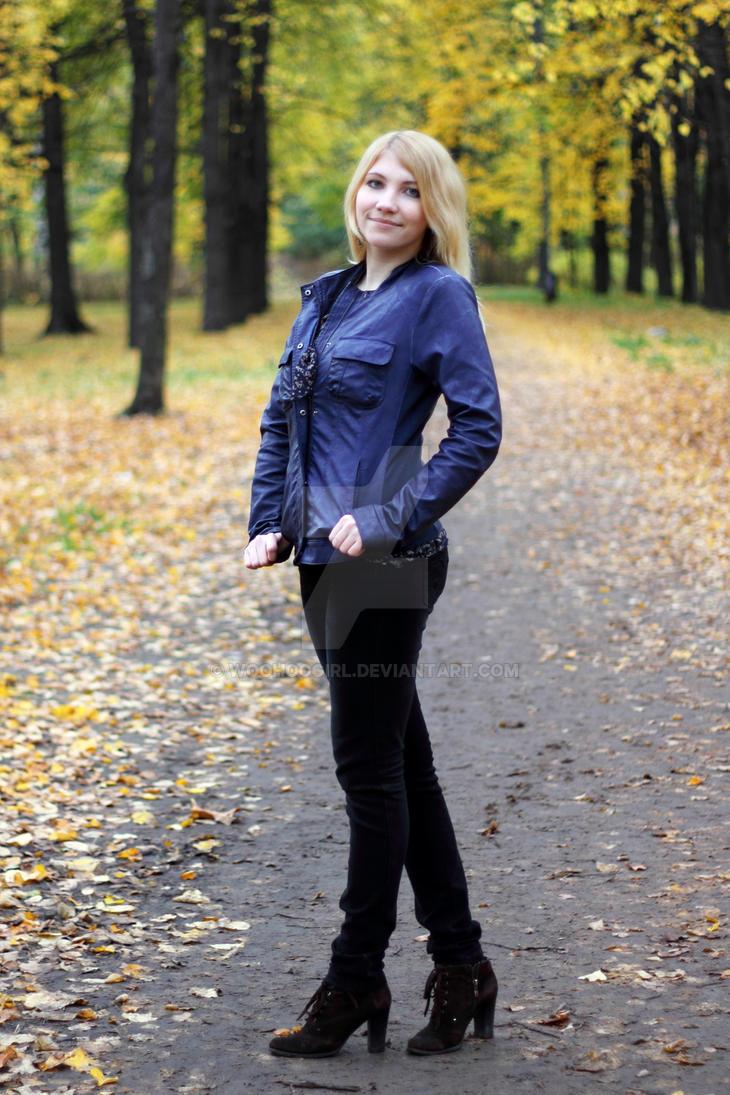 Autumn park. Petrozavodsk by WooHooGirl