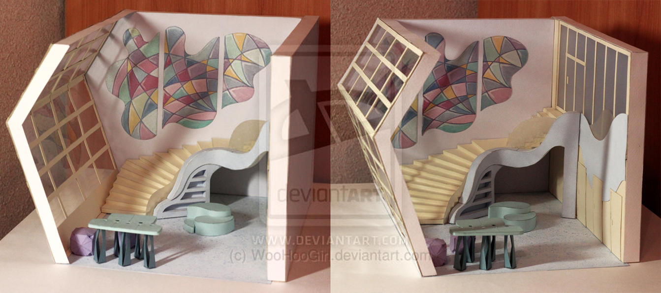 The Design-project of the Art Studio interior by WooHooGirl