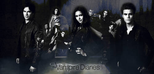 The Vampire Diaries || Season 4 Header