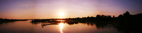 Arkansas River Sunset by eRality