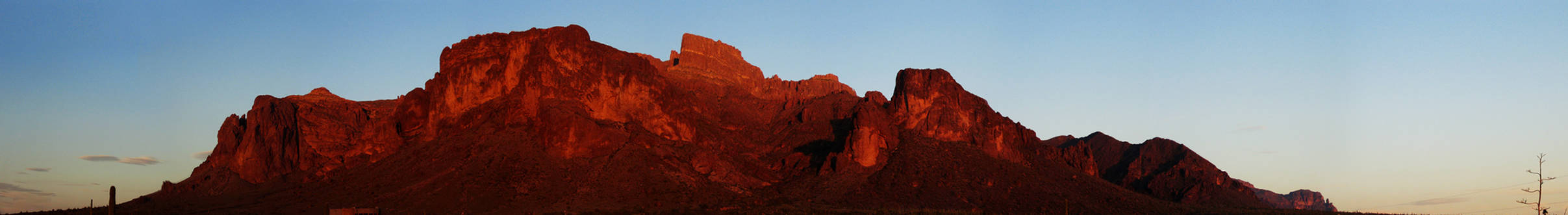 Red Superstition Mountain