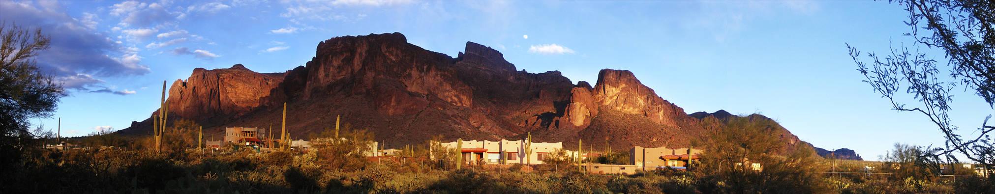 Superstition Mountain Sunset 2