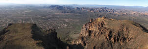 View from Superstition Mountain