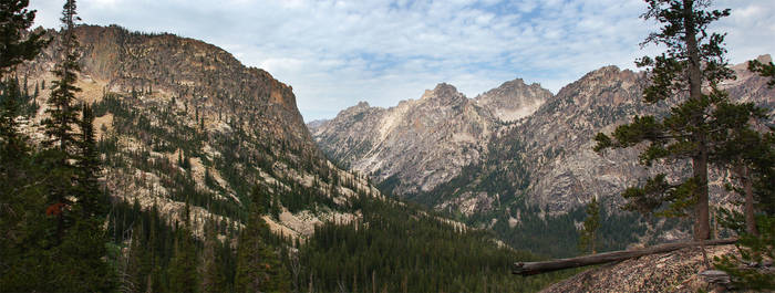 Sawtooth Redfish Creek Canyon