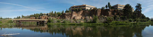 Deschutes River in Bend by eRality