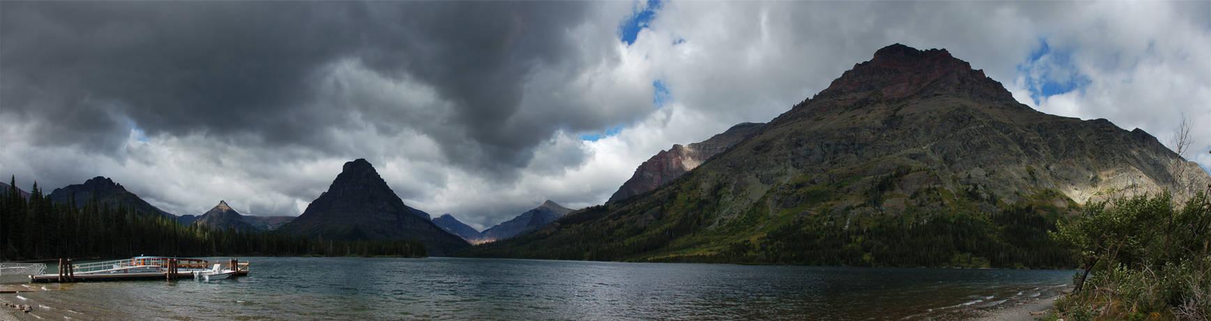 Two Medicine Lake 2007-08-21