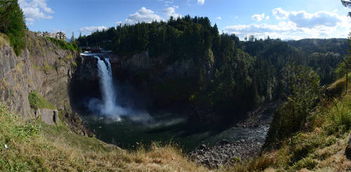 Snoqualmie Falls 2012-08-31 by eRality