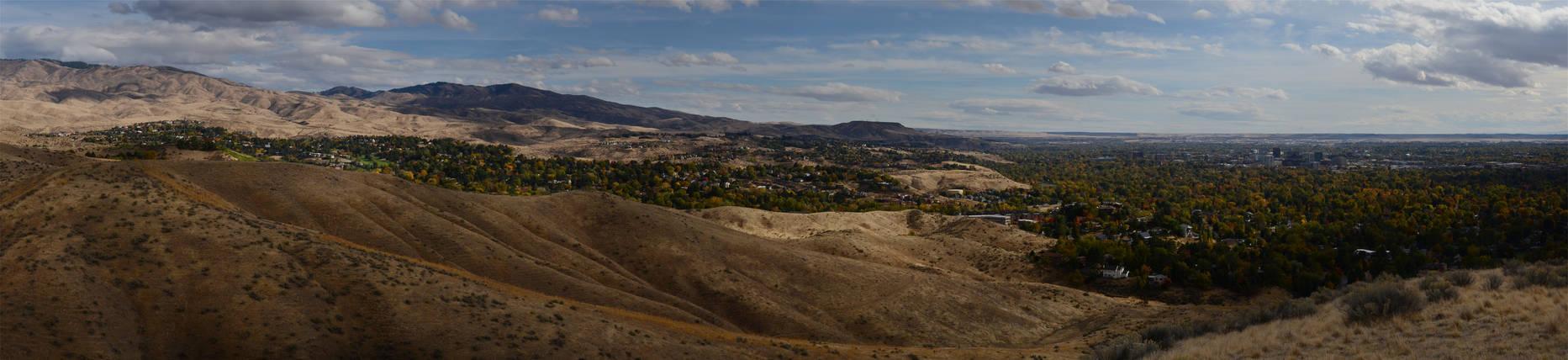 Boise Foothills Fall 2012-10-20