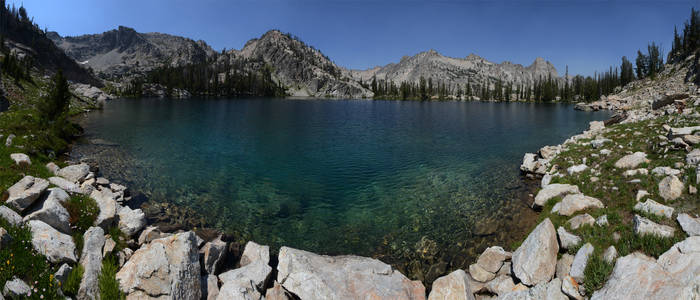 Sawtooth 360 Lake 2012-08-03 2