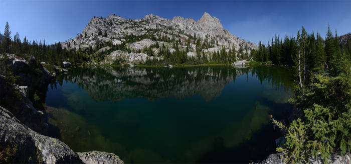 Sawtooth Little Leah Lake 2012-08-03