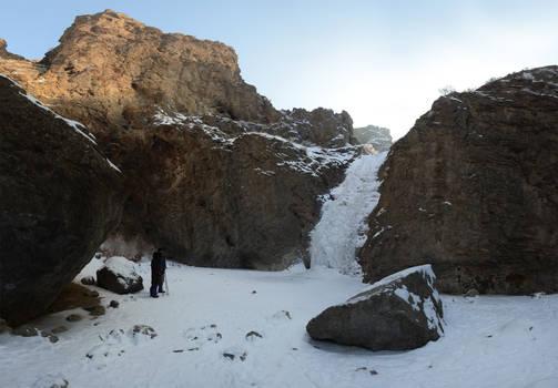 Jump Creek Falls Frozen 2013-01-18 3