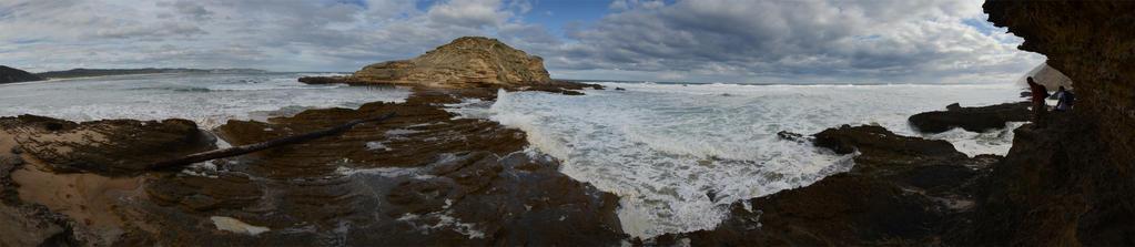 Rugged Coastline by eRality