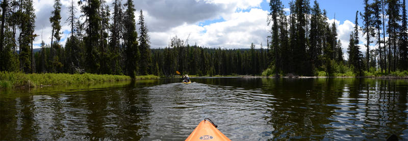 Payette River Meanders Kayaking 2