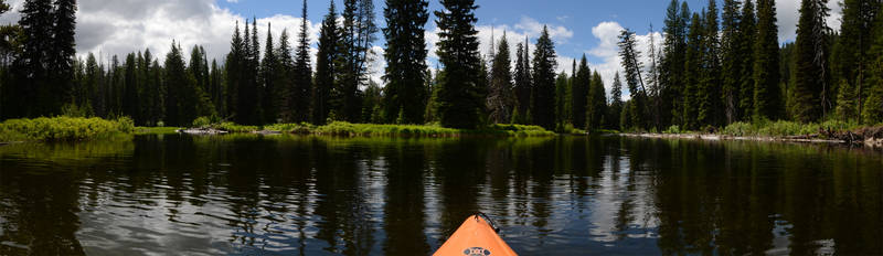 Payette River Meanders Kayaking 1 by eRality