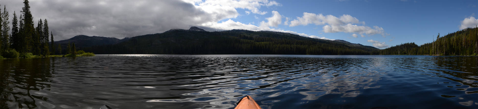 Upper Payette Lake Kayaking