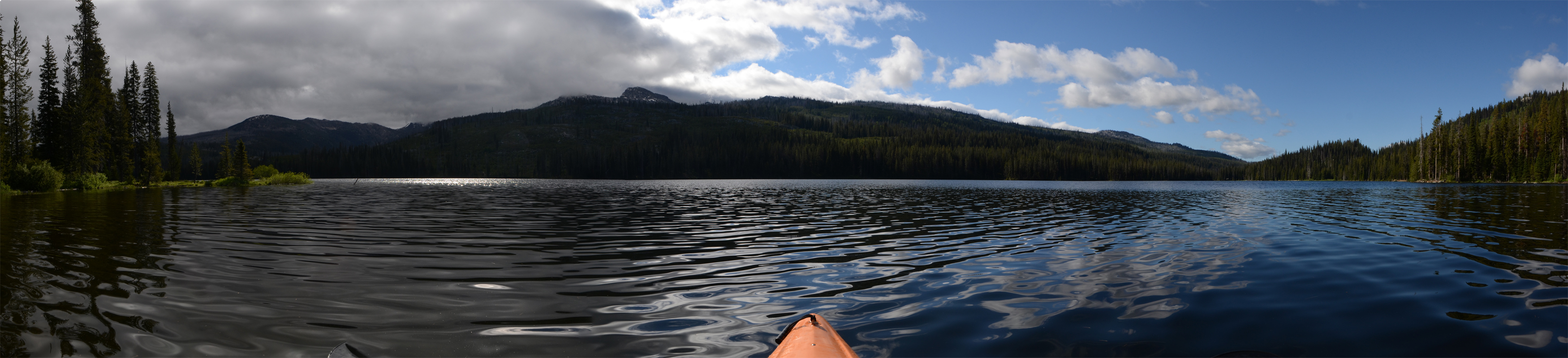 Upper Payette Lake Kayaking by eRality