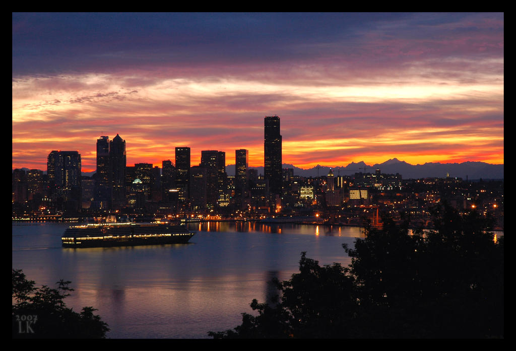 A New day in Seattle by whitelouis on DeviantArt