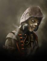 Arkham Scarecrow by Jhanquaza