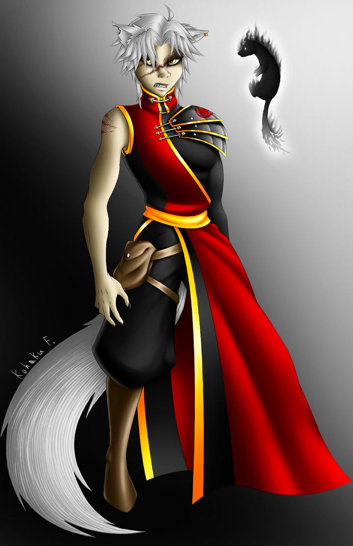 Kohaku from dungeons and dragons by Kohaku-Forsagia