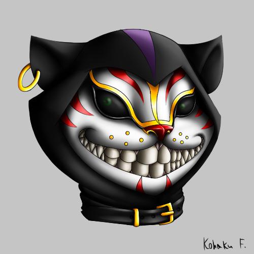 Cheshire cat by Kohaku-Forsagia