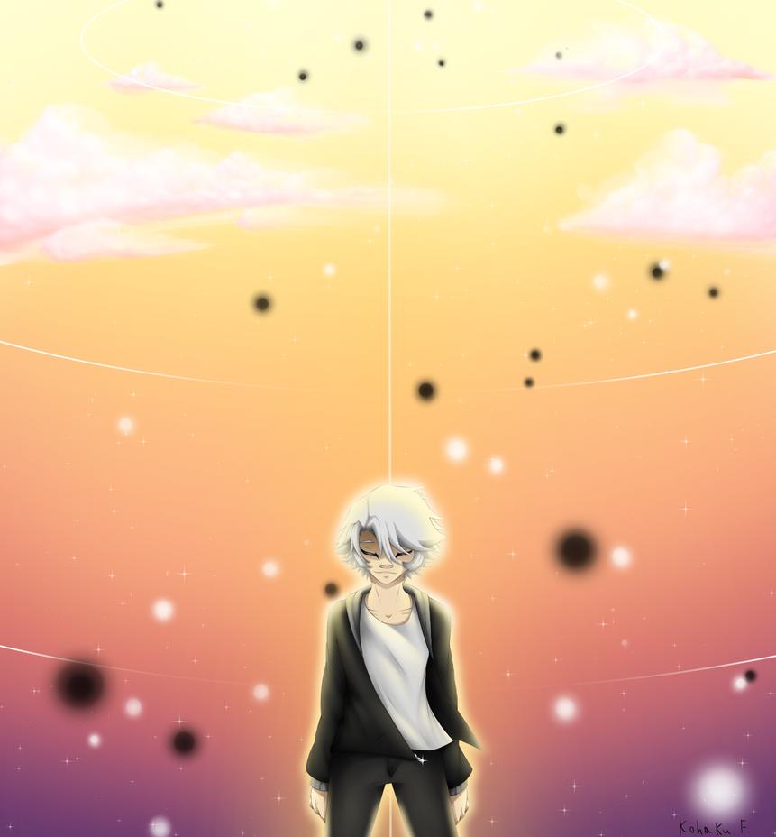 Kohaku with a background! :D by Kohaku-Forsagia