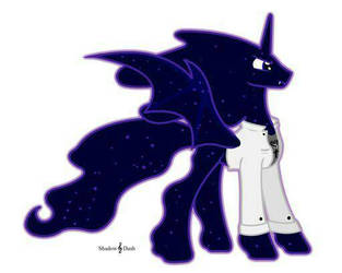 King Kerberos Cloud the Tantabus Alicorn by Dragonlover2170