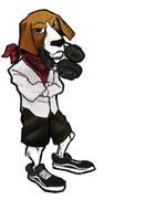 Rafik - aka my friend DOGGO by diegodorn