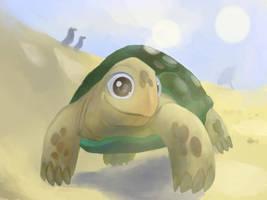 Barry, the tortoise by diegodorn