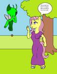 Celebi and Fluttershy