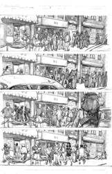 Bullet Time #3 P1 (pencils by Robert Keough)