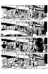 Bullet Time #3 P1 Inks by Jeff Coney