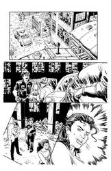 Bullet Time #5 Page 8 Inks