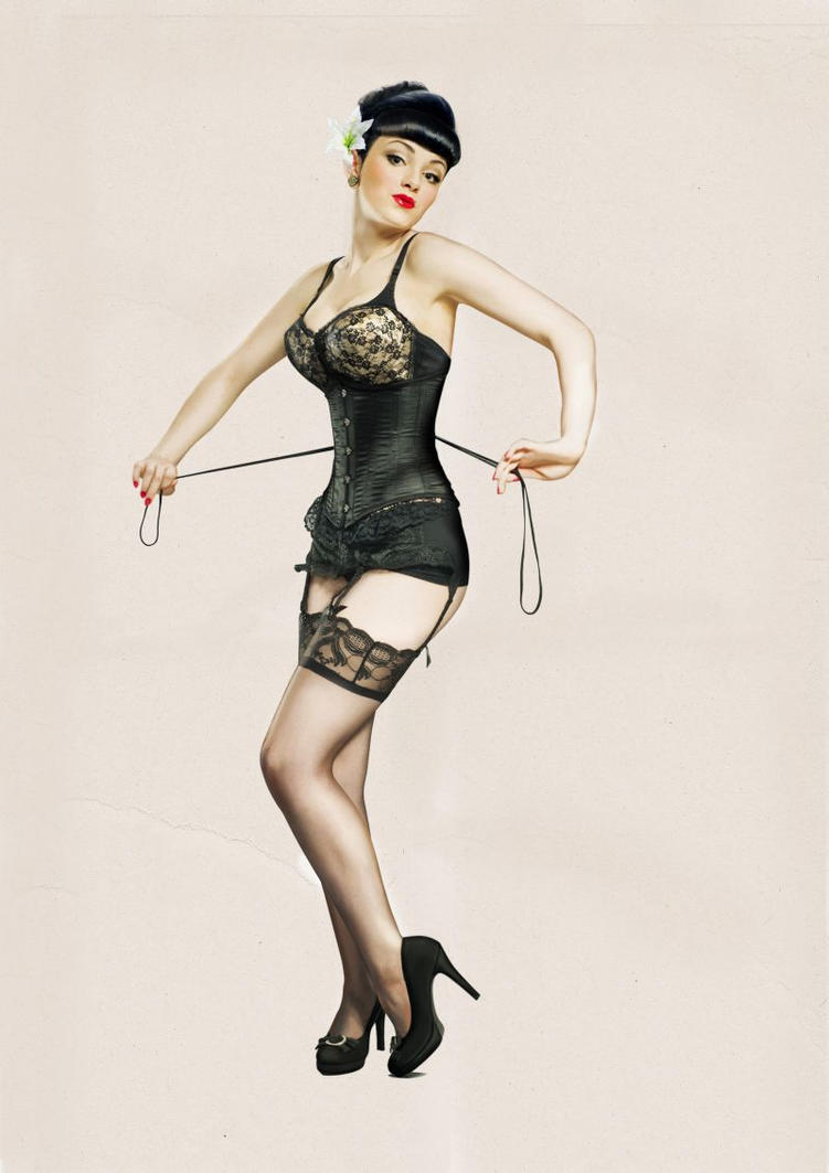 like betty page by JeanyKitch