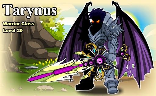 AQW-Chaos Warrior Tarynus by SirFailsalot91 on DeviantArt