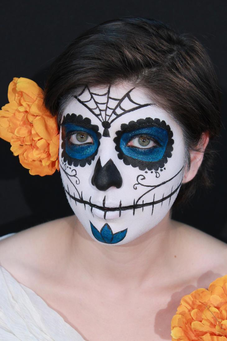 Dia de los muertos sugar skull by CupCakeMonsterCrafts on ...