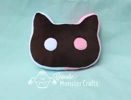 Cookie Cat Plush by CupCakeMonsterCrafts