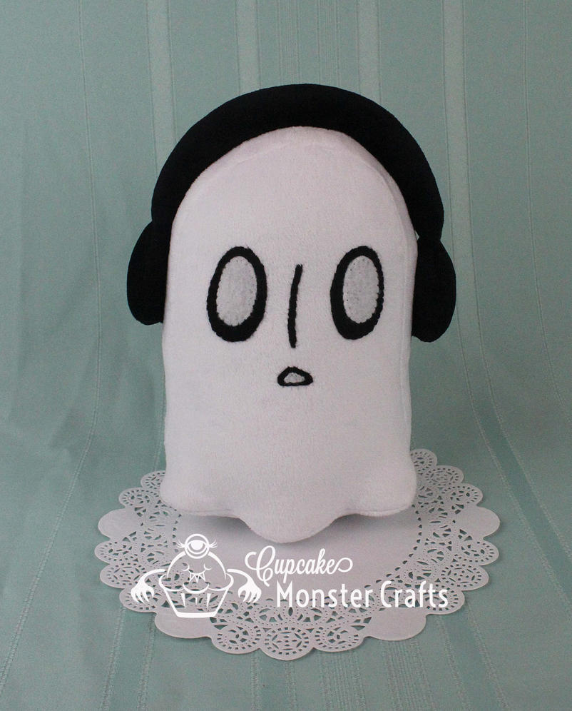 Hand made Napstablook Plushie by CupCakeMonsterCrafts