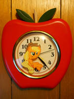Custom Applejack Clock by EarthenPony