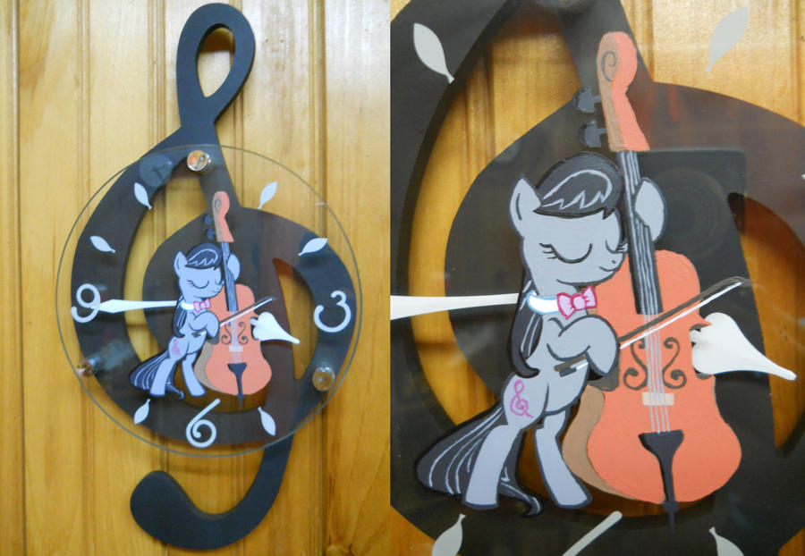 Another Octavia Clock! by EarthenPony