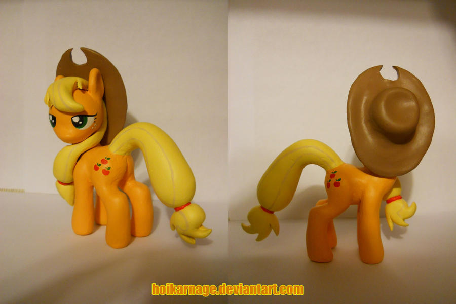 Applejack, finished. by EarthenPony