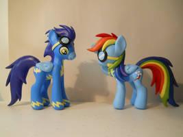 Cadet Rainbow Dash by EarthenPony