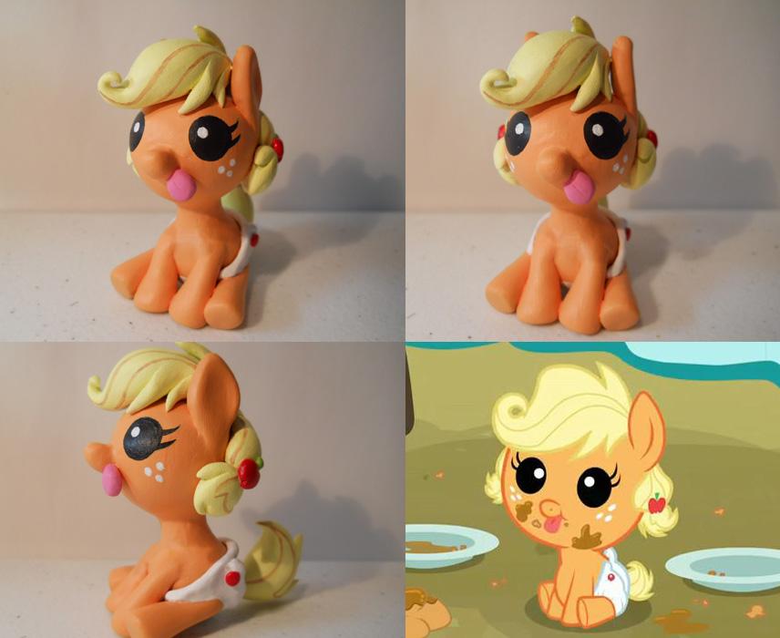Baby Applejack! by EarthenPony