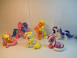 Lauren Faust Pitch Bible Mane Cast Ponies! by EarthenPony