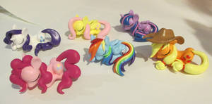 Mane Six Sleeping Ponies