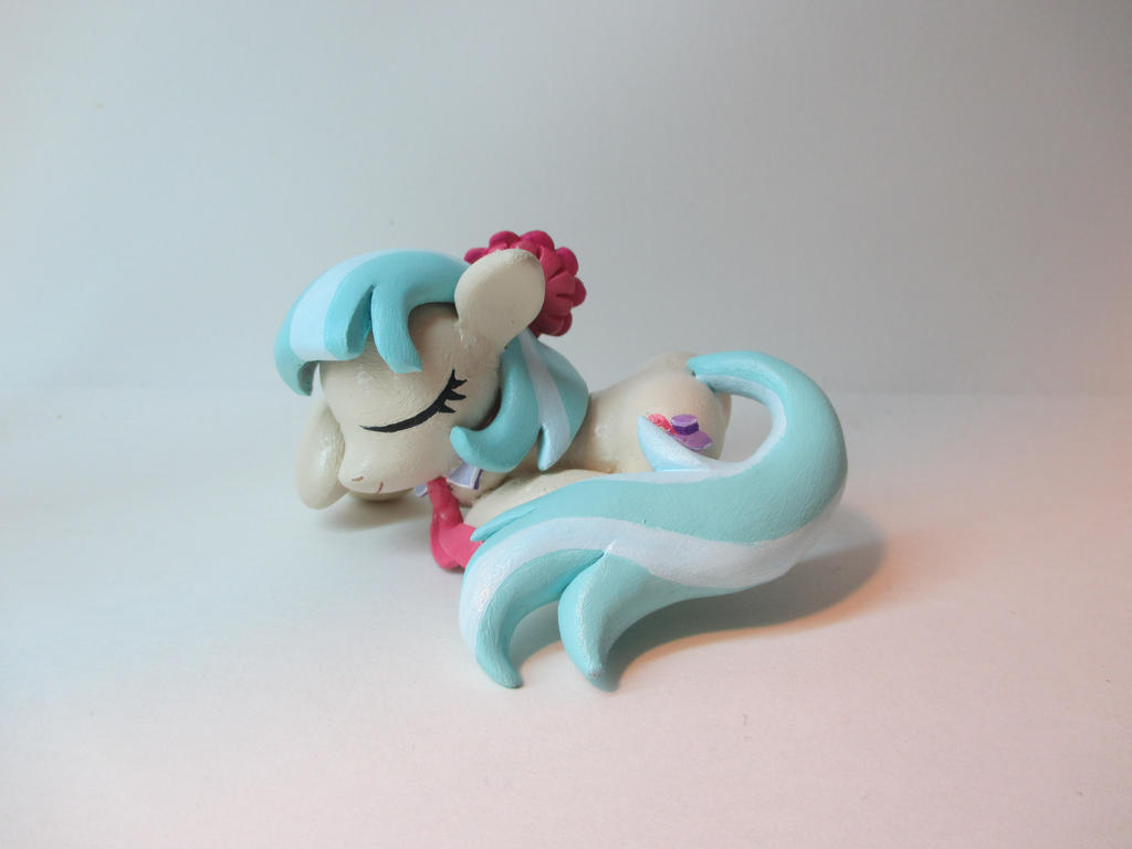 Sleeping Coco Pommel by EarthenPony