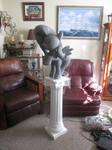 28 inch tall Fluttershy Statue WIP by EarthenPony