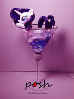 Posh Glass Advert by EarthenPony