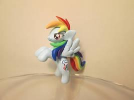 Rearing Rainbow Dash! by EarthenPony