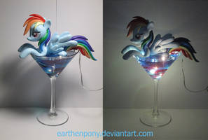 Rainbow With a Dash of Vodka. For sale! by EarthenPony