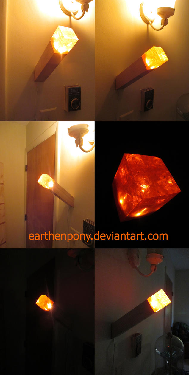 hyper realistic minecraft torch by earthenpony on deviantart